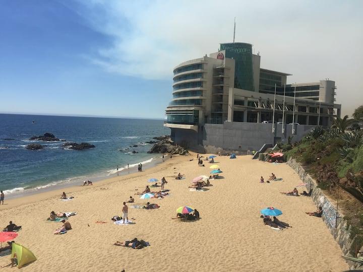 Seguridad, Playa y Sol en Hermoso Loft para 3-4Pax