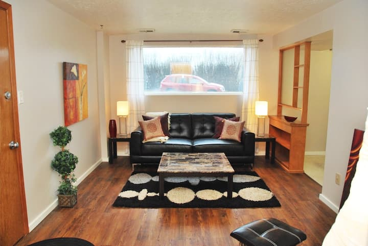 1 Bedroom Apartment D with Full Kitchen & Apple TV