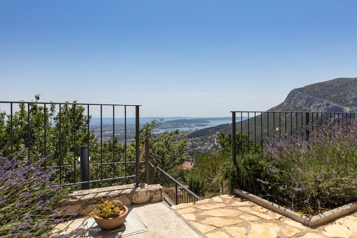 Hidden gem with a breathtaking view on Split