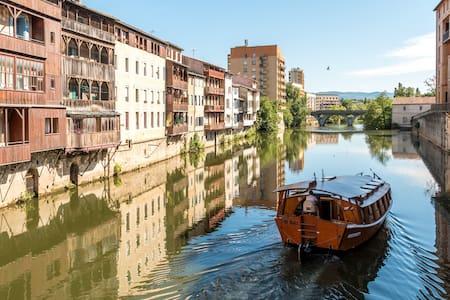 L'AUTAN D'ISABELLE  gîte de ville - Castres - Apartamento