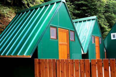 Romantic mountain cabin in Complex Korab Trnica