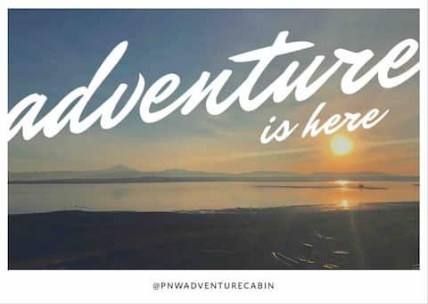 PNW Adventure Cabin - Beachfront & Mountain Views!