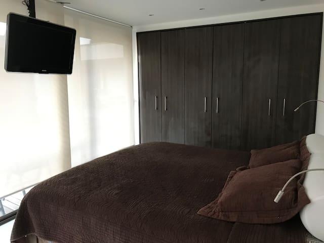 Habitación individual,  Casa Con con