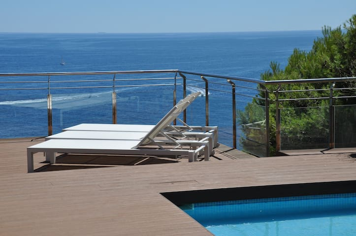 Penthouse in front of the sea-210M2 - Palafrugell - Apartment
