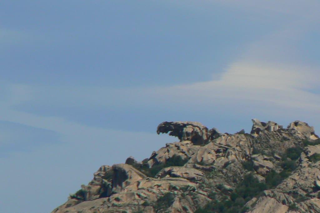 La roccia dell'orso di Palau