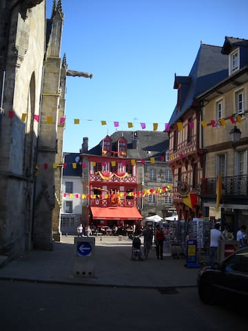 House rental in Josselin center . - Josselin - Haus