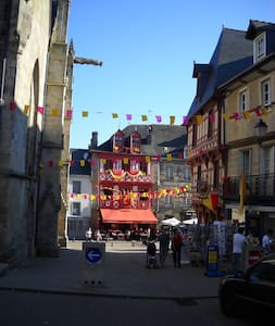 House rental in Josselin center . - Josselin