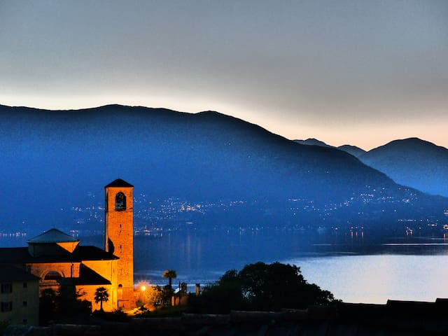 grosses Haus, ruhig, mit Traumsicht - Ranzo-S. Abbondio - Talo