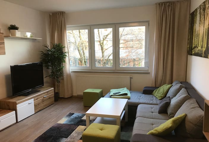 Deluxe 3-bedroom apartment in Nuremberg`s Old Town
