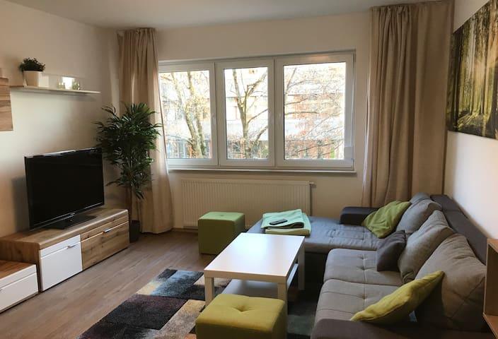 Deluxe 3-bedroom apartment in Nuremberg`s Old Town