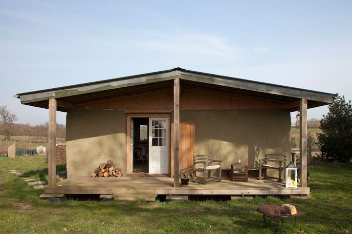 Charming straw self build chalet - Ringsfield - Casa-Terra