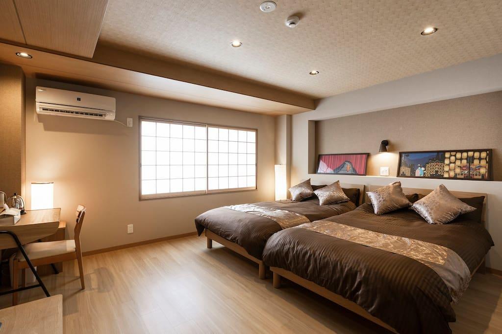 4F Room 客室 房间