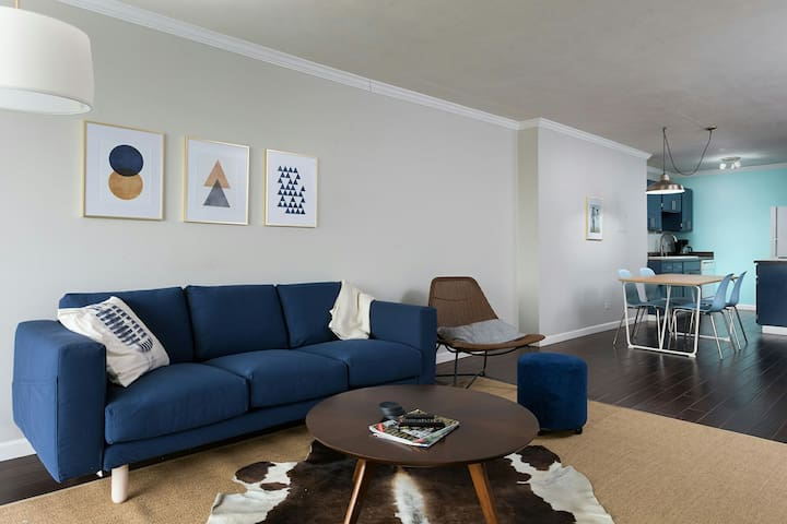 Cap Hill Condo | 3 mo min | with parking & views.