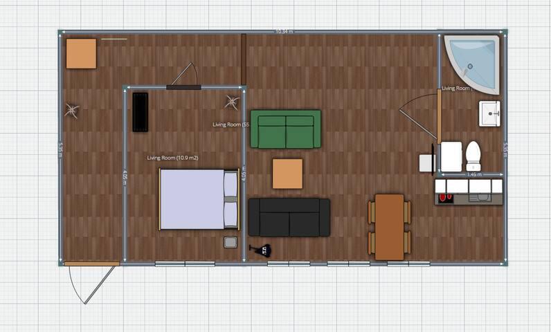 Планировка помещения.