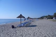 plage de Folelli proximité
