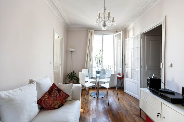 PARIS - 1br-apt in charming Neuilly