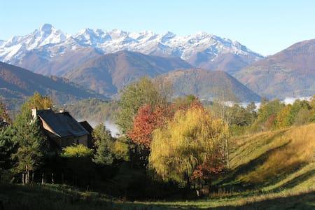 Gîte de montagne,  vue panoramique - Haus