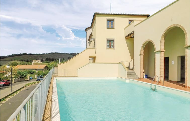 Holiday apartment with 1 bedroom on 30m² in Monteverdi Marittimo