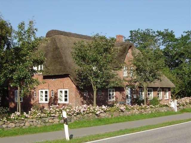 Landhaus zwischen den Meeren in Nordfriesland