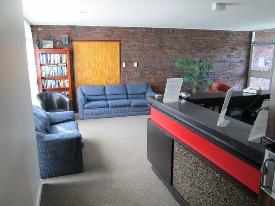 Guest Reception Area