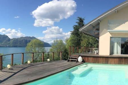 Villa avec magnifique vue Lac - Tresserve - Casa