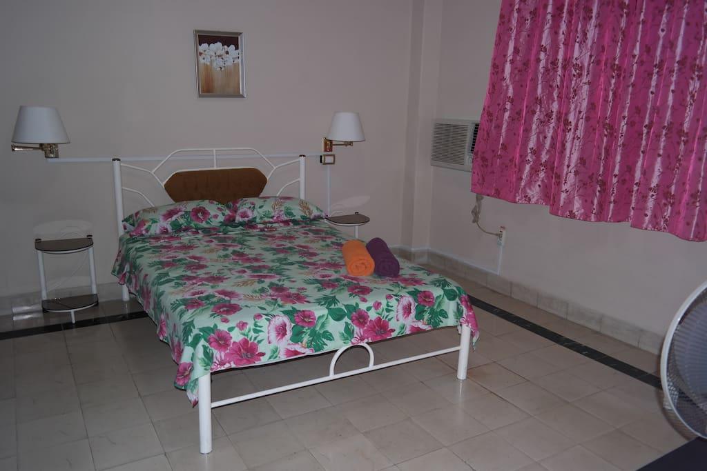 Dormitorio para dos.