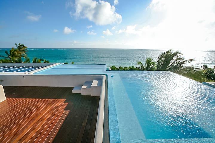 Casa Ikal 4 Bedrooms: 112126 - Sian Kaan - Casa de campo