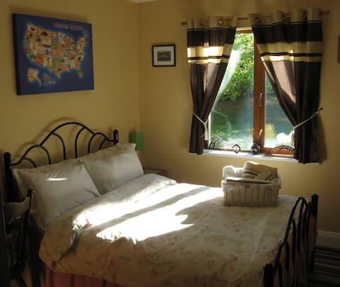 Large double bedroom with ajacent Private Bathroom