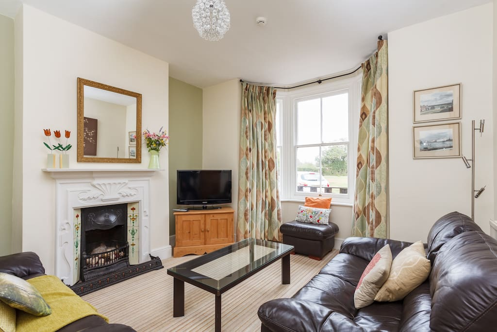 Waterley's lounge with views over village green