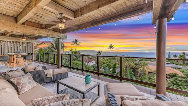 Sweeping Panoramic Ocean Views - Private Ohana