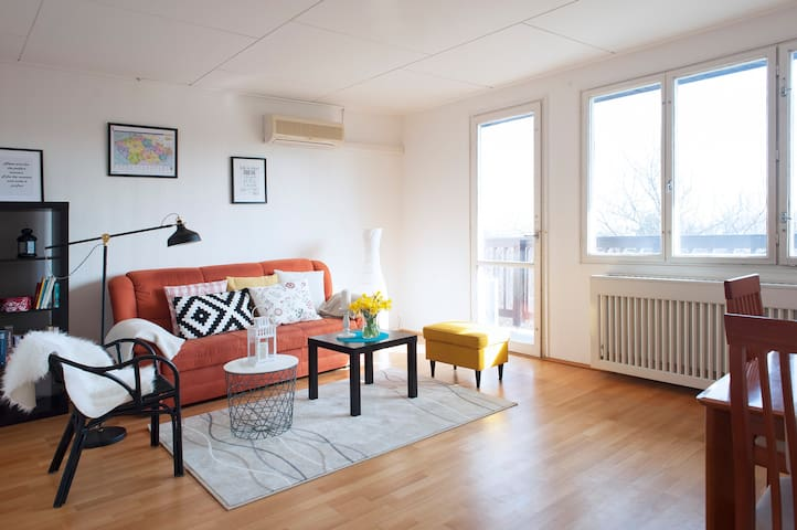 Light and Cozy two rooms- apartment in Prague City - Praga - Appartamento
