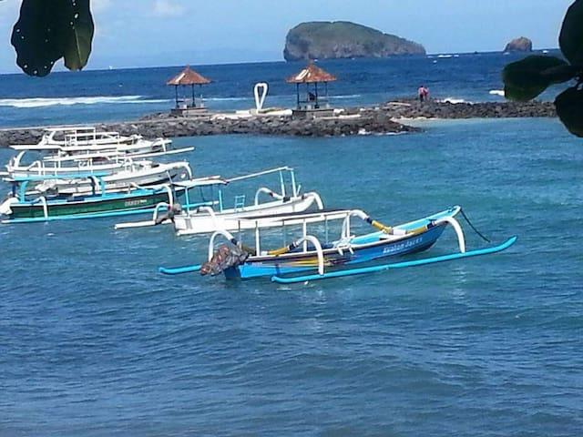 Ocean View - Local Fisherman's  boats