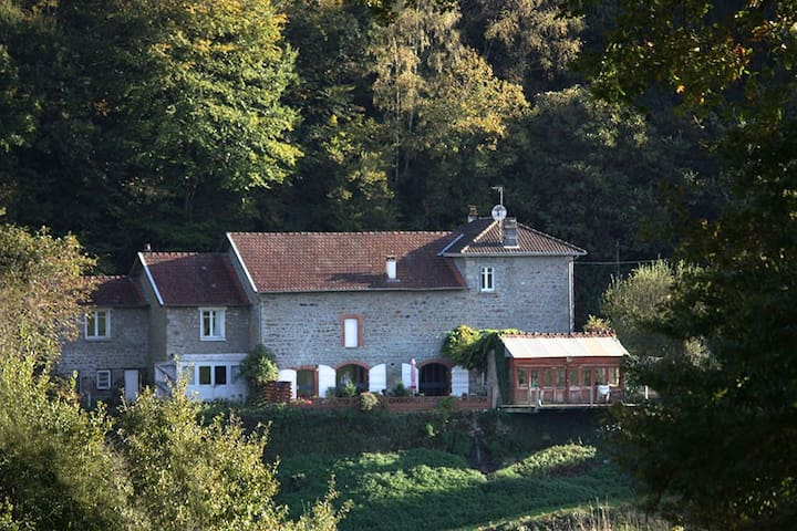 Nice and quiet gite in Haute Vienne - Saint Julien le Petit - House