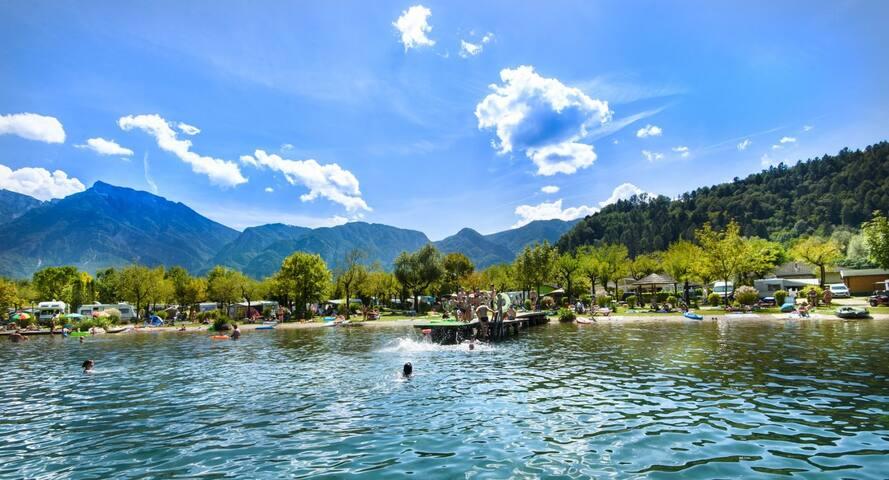 Loft in riva al Lago di Levico :) - Levico Terme - Loft