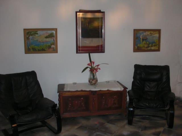 Un rincón del salón