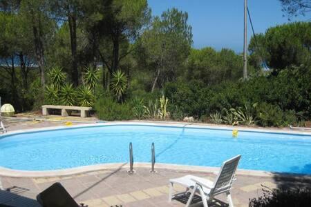 Villa indipendente con piscina costa ovest - narbolia