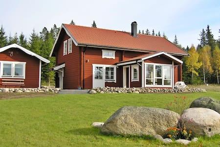 Grosses Haus mit Blick ueber die schwedische Lands - Aneby V