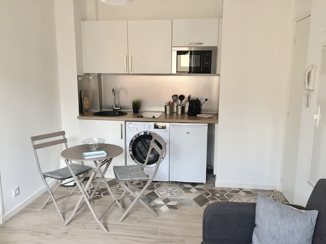 Appartement niçois cocooning