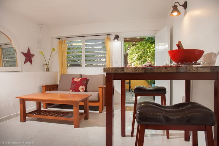 Your Clean and Cozy Puntas Home - Rincón - Huis