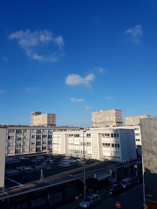 appartement en plein centre ville apartments for rent in le havre normandie france. Black Bedroom Furniture Sets. Home Design Ideas