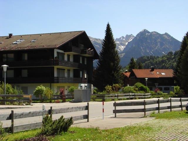 FEWO Bergrose in Obermaiselstein bei Oberstdorf - Obermaiselstein - Flat