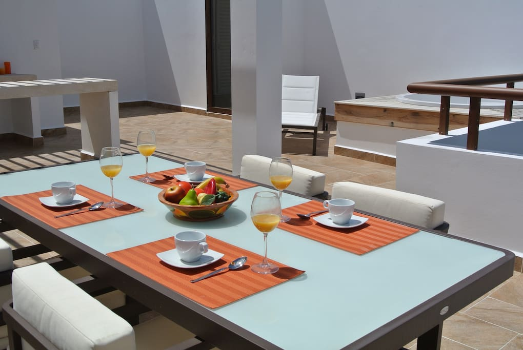 Deluxe family vacation penthouse appartements en - Appartement luxe mexicain au plancher bien original ...