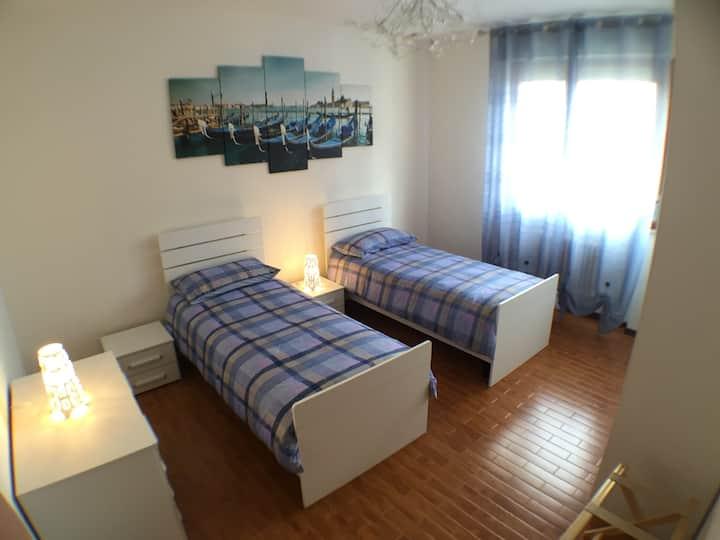 3-room apartment, 2 bathrooms, 98mq Town Centre