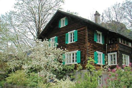 B&B 2er-Dachsuite in Engi bei Elm - Glarus Süd - 家庭式旅館