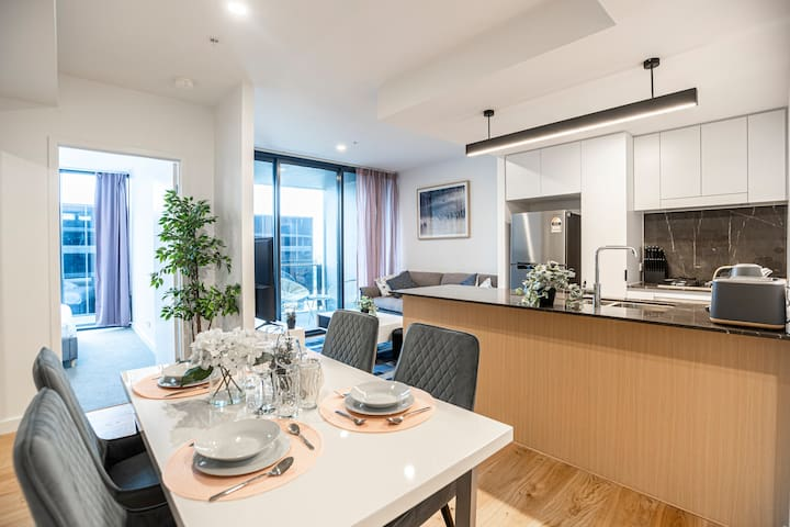 ♡Exquisite RiverView Deluxe 1BR|Parking|Southbank