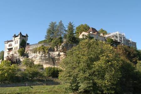 Le Château de Condat - Condat-sur-Trincou - Linna