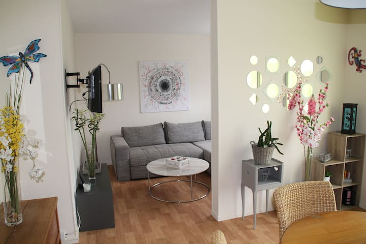 Apartment in ecrain of greenery - Rouen - Apartemen