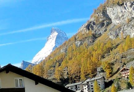 Zentrale 2.5 Zimmer Wohnung Zermatt