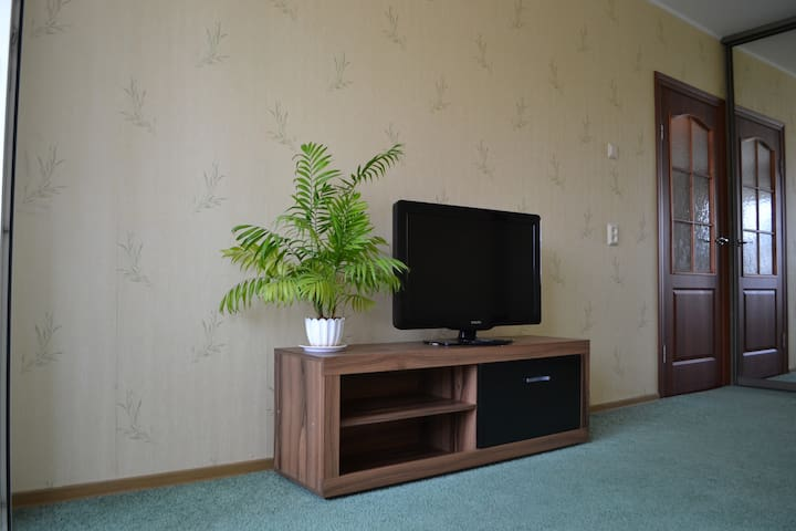 Beautiful apartment,metro Veterans - Saint Petersburg - Flat
