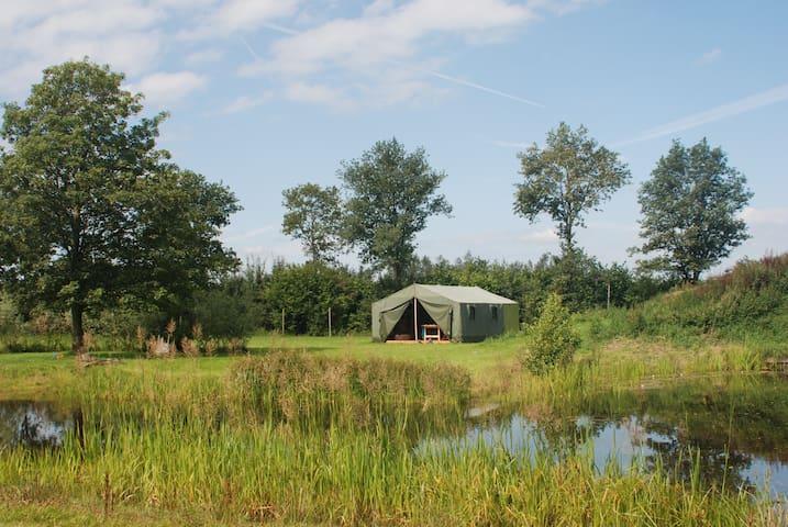 Safaritent minicamping Overijssel - Broekland - Zelt